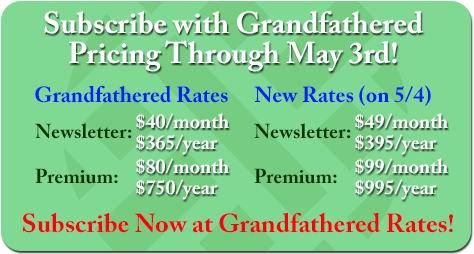 Subscribe Now at Grandfathered Rates